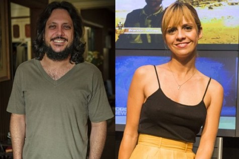 Lucio Mauro Filho e Renata Gaspar (Foto: TV Globo)