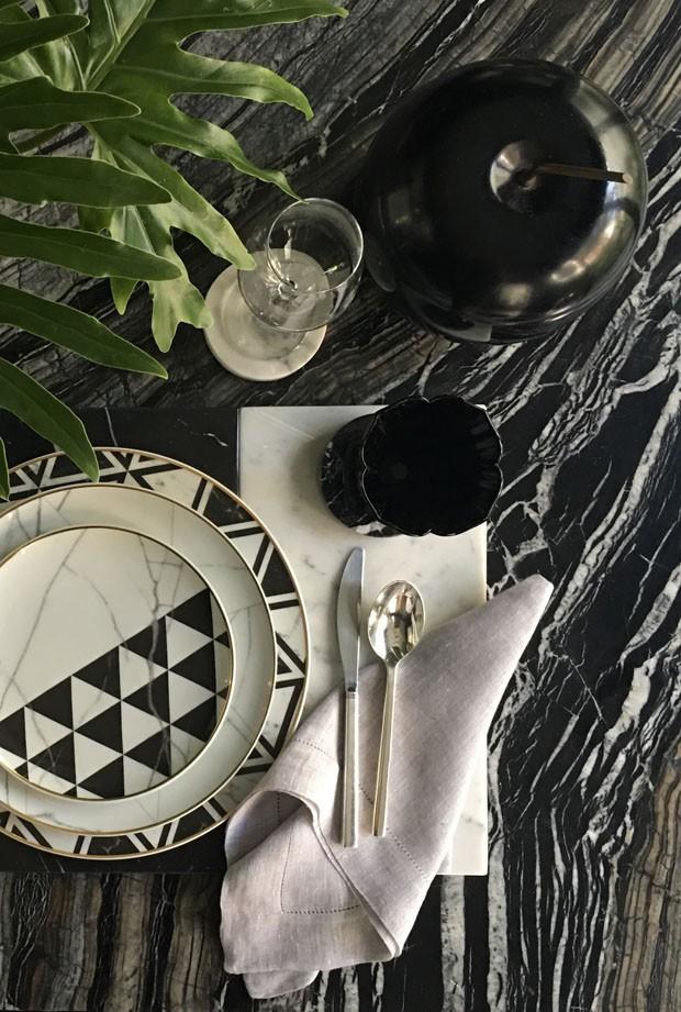 Isabela Giobbi: a elegância do mármore em preto e branco (Foto: Isabella Giobbi)