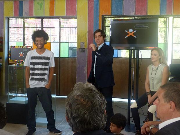 Rene Silva faz participação em Geração Brasil (Foto: Geração Brasil / TV Globo)