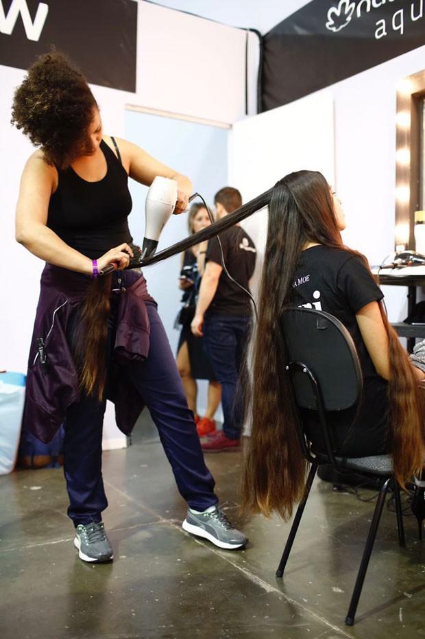 Shaneiva não corta o cabelo desde 2010 (Foto: Thiago Bernardes / Ed.Globo)