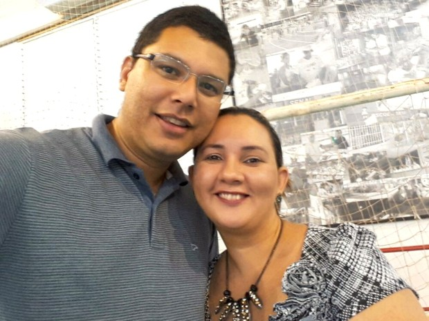 Casal, que mora em Rio Branco, está junto há mais de seis anos (Foto: Arquivo pessoal)