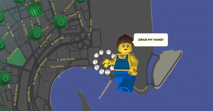 Google Maps Lego (Foto: Reprodução/Brick Street View)