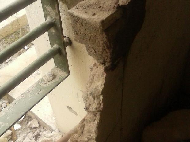Quatro detentos fogem por buraco da penitenciária de Tacaimbó (Foto: Divulgação/Sindasp)