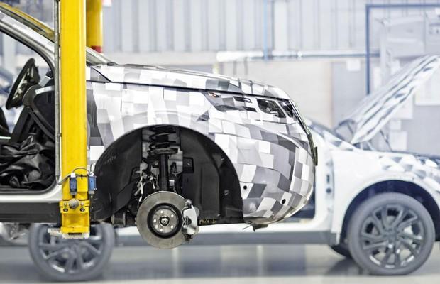 Discovery Sport na fábrica da Land Rover (Foto: Divulgação )