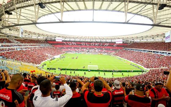 Maracanã. O Flamengo voltou ao estádio em 2016 contra o Corinthians (Foto: Rodrigo Coca / Flamengo)