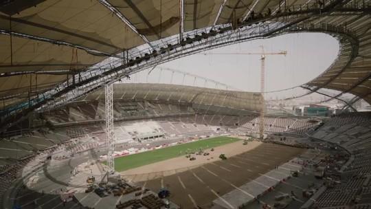 Cinco anos antes, Catar vai inaugurar primeiro estádio para Copa de 2022