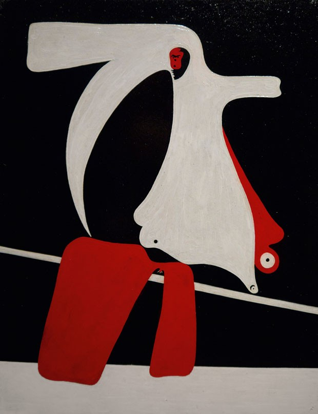 Sem título, 1932-1934, de Joan Miró, Helly Nahmad Gallery (Foto: © Successió Miró / ProLitteris, Zürich)