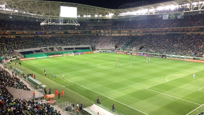 Arena do Palmeiras arquibancadas (Foto: Felipe Zito)