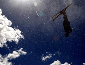 esqui aéreo Lydia Lassila ouro em Vancouver 2010 (Foto: Agência Getty Images)