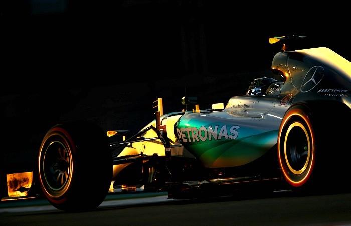 Nico Rosberg GP de Abu Dhabi