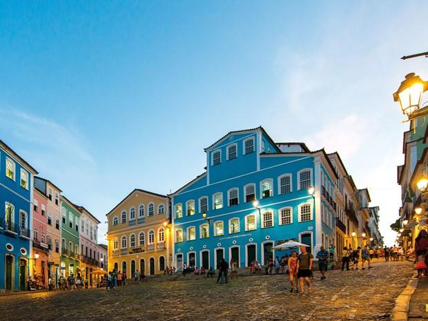 Pelourinho, em Salvador, Bahia (Foto: Fernando Chiriboga)