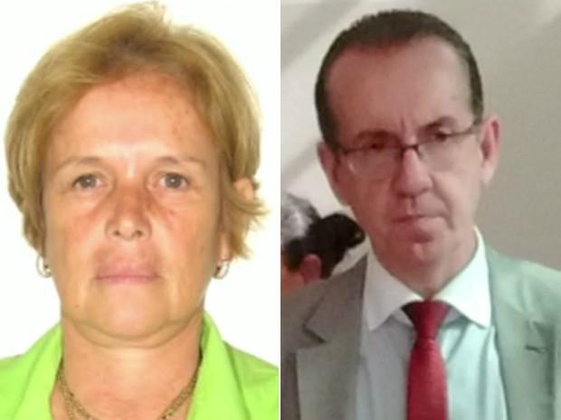 Maria Zuely Alves Librandi e Sandro Rovani da Silveira Neto (Foto: Reprodução/EPTV)