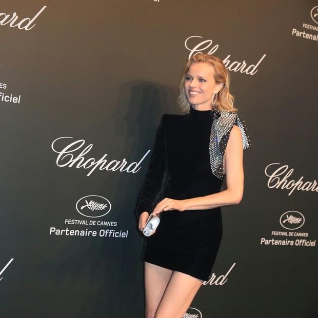 Eva Herzigová em Cannes 2017 (Foto: Antonio Barros/ Divulgação)