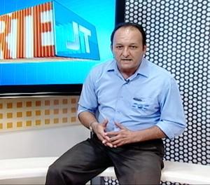 Paulo Tihamer, comentarista da TV Tapajós (Foto: Reprodução/TV Tapajós)