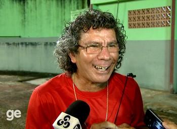 Afonso Alves, técnico interino e preparador físico da Amax (Foto: Reprodução/Rede Amazônica Acre)