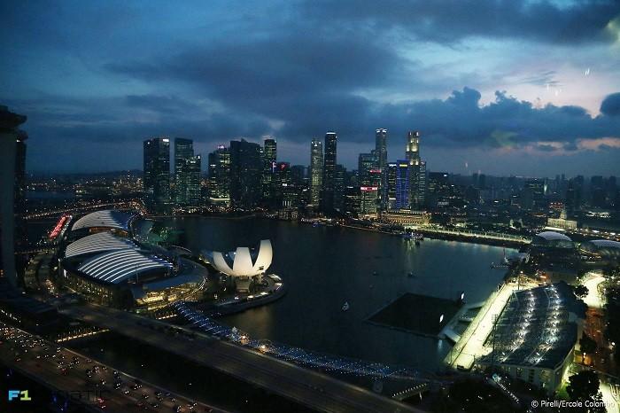 Circuito Cingapura aérea