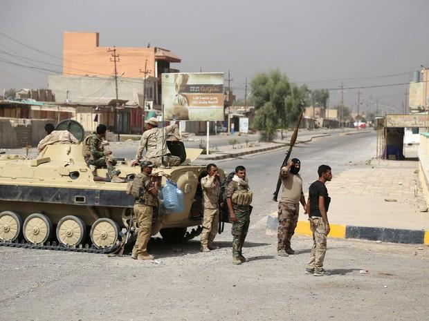 Após recuperar cidade próxima (Shirqat), Exército do Iraque fará ofensiva contra Mossul (Foto: Reuters)