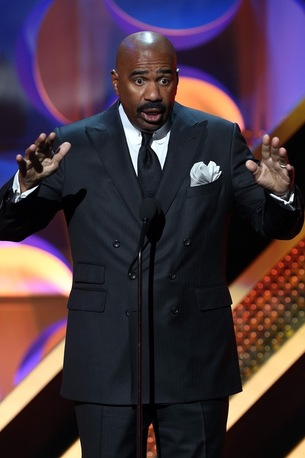 O apresentador Steve Harvey (Foto: Getty Images)