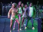 Claudia Leitte ensaia bloco 'Largadinho' ao lado de Preta Gil e ex-participantes