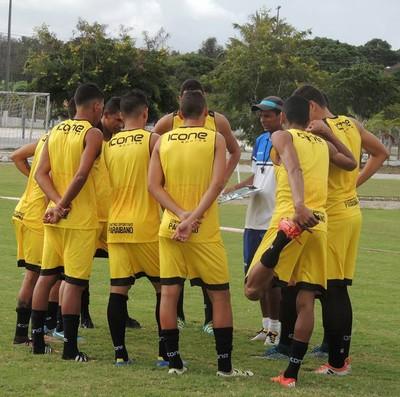 CSP, jogo-treino (Foto: Wellington Faustino / CSP)