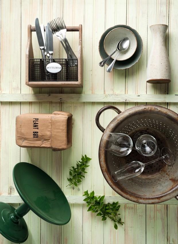 Objetos de cozinha para aluguel (Foto: Iara Venanzi / Editora Globo)