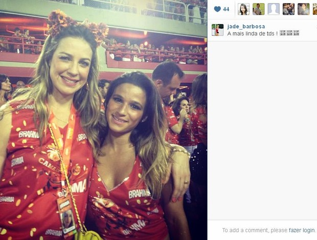jade barbosa instagram (Foto: Reprodução instagram)