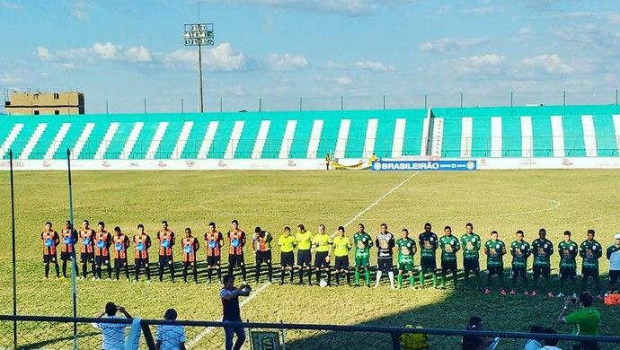 Sousa x Globo FC (Foto: Divulgação)
