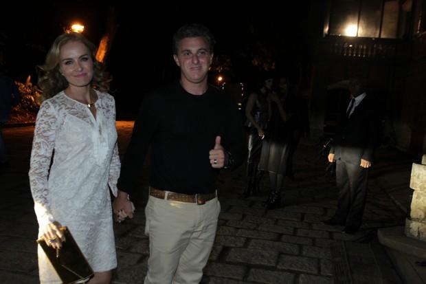 Angélica e Luciano Huck (Foto: Marcello Sá Barretto / AgNews)