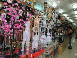 Comércio abre vagas temporárias devido a festas de fim de ano (Foto: Gabriela Stuart/G1)