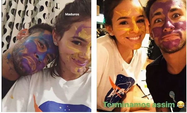 Bruna Marquezine e Neymar (Foto: Reprodução Youtube)