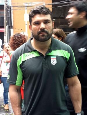 Bruno Mazziotti preparador físico Irã (Foto: Fred Gomes)