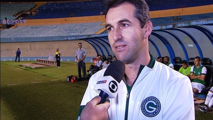 Marcelo Condé, técnico do Goiás (Foto: Reprodução/TV Anhanguera)