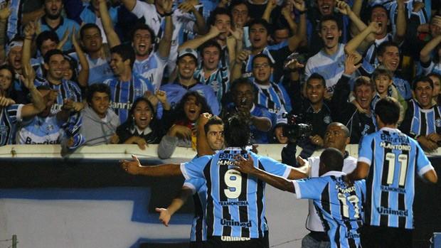 grêmio bahia copa do brasil olímpico miralles moreno gol (Foto: Lucas Uebel/Grêmio FBPA)