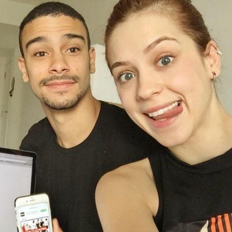 Sophia Abrahão e Sergio Malheiros (Foto: Reprodução)