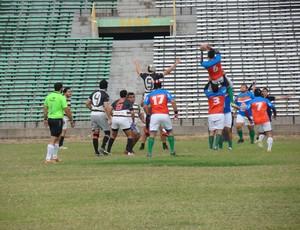 Jogo de Rúgby entre Upaon Açu (MA) e Delta UFPI Rugby (PI) (Foto: Wenner Tito)