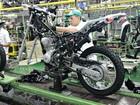 Produção de motos no Brasil recua 18,6% em agosto