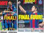 Em meio à festa do Barça e lamento do Atleti, árbitro vira alvo dos dois times