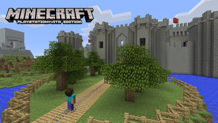 Minecraft: PS Vita Edition traz um grande mundo de blocos para explorar (Foto: GameZone) (Foto: Minecraft: PS Vita Edition traz um grande mundo de blocos para explorar (Foto: GameZone))