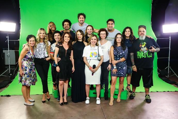 Elenco da MTV Brasil se reencontra para comemorar 25 anos do canal