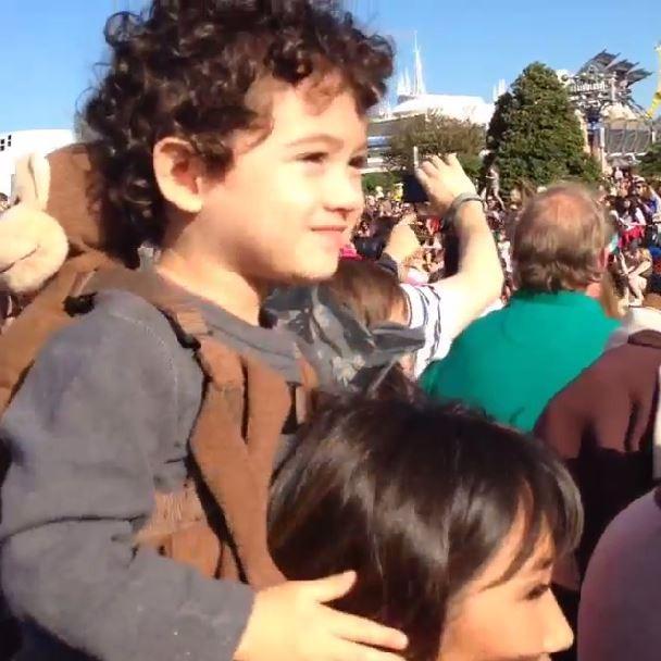 Daniele Suzuki e o filho Kauai (Foto: Instagram/Reprodução)