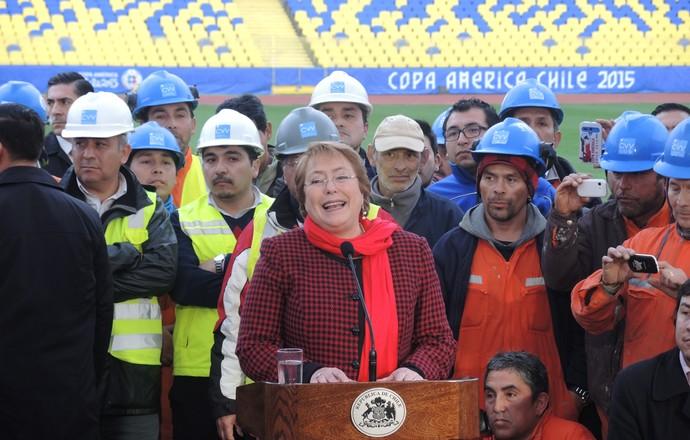 Michelle Bachelet presidente Chile (Foto: Alexandre Lozetti)