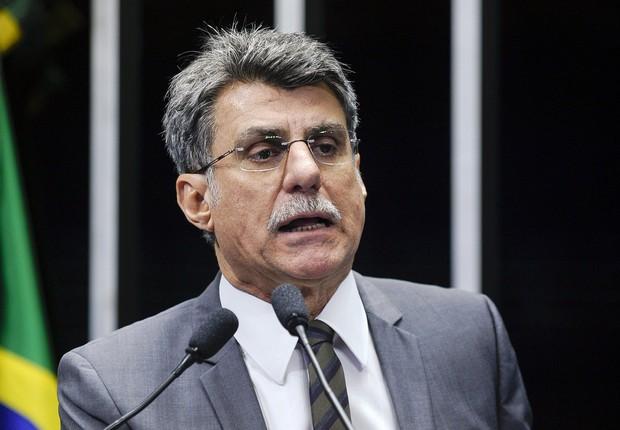 O senador Romero Jucá (PMDB-RR) (Foto: Marcos Oliveira/Agência Senado)