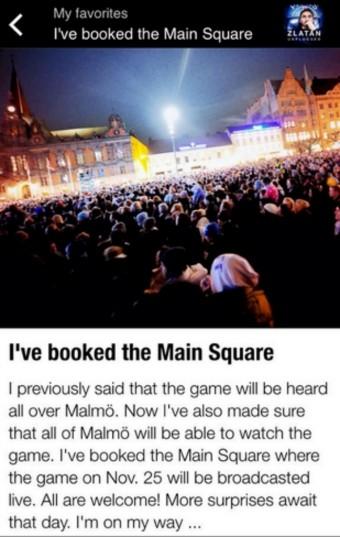 Ibrahimovic praça Malmö