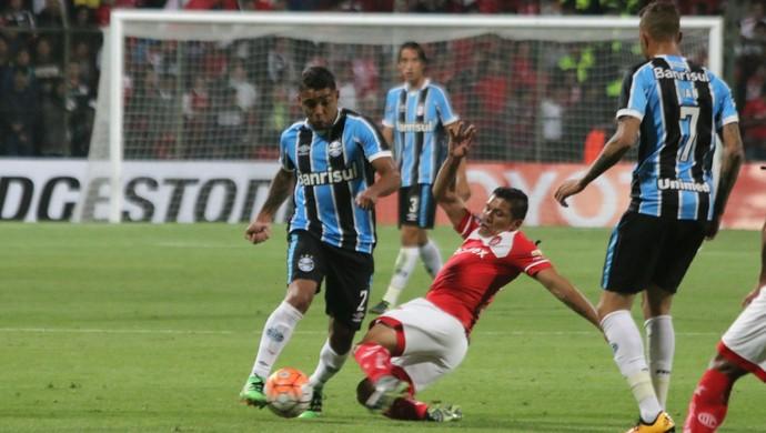 Wallace Oliveira Grêmio Toluca (Foto: Eduardo Moura/GloboEsporte.com)