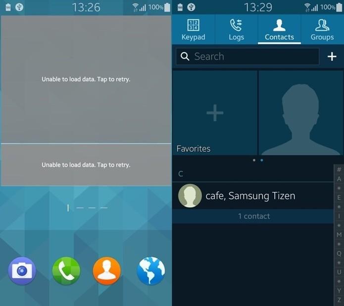 Tizen pega o design de vários elementos do sistema emprestado do TouchWiz (Foto: Reprodução/Sammobile)