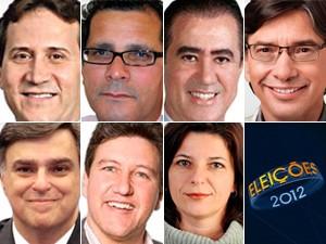 Candidatos à Prefeitura de Campinas (Foto: G1)