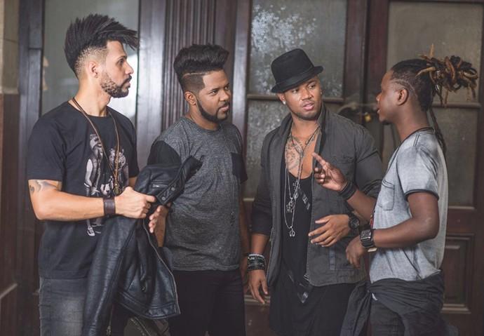 Cantor Xanndy é o novo vocalista do grupo Nosso Sentimento (Foto: Jackson Martins/Flash2Rec )