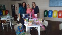 RH e Instituto EPTV promovem doação de brinquedos (Divulgação EPTV)