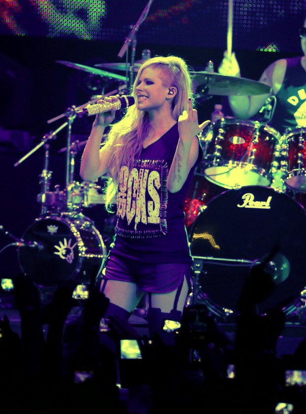 Avril Lavigne (Foto: Marcello Sá Barretto/AgNews)