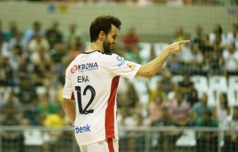 Com gols de Eka e Felipe Mello, Joinville vence Carlos Barbosa na LNF